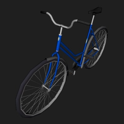 classic bicycle 3ds