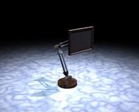 3d pelican monitor screen
