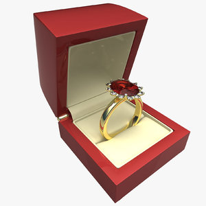 3ds ring emerald ruby