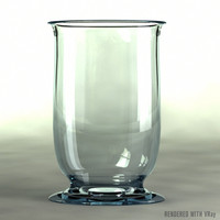 3ds max glass vase