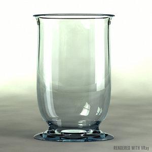 3ds max glass vase
