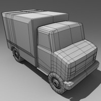 3d model armoured truck