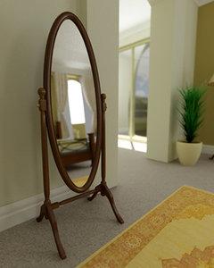 max cheval dressing mirror