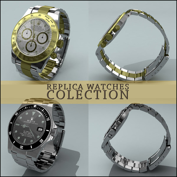 replica watches 3d model