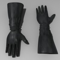maya gloves leather