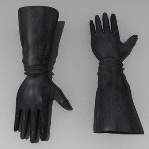 maya gloves leather