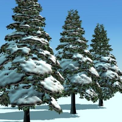snow pine 3ds