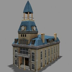 3d city hall