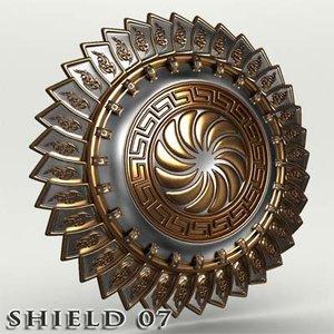 shield 07 3d model