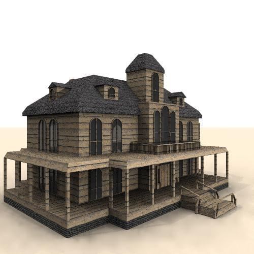 3d phantom manor model