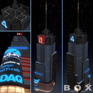3d conde nast building @