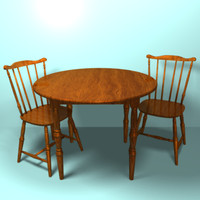 Basic Kitchen Table and Chair