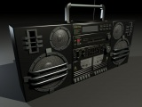 max duel cassette stereo