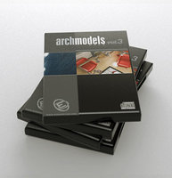 archmodels 3 vol 3d model