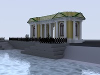 rossi saint-petersburg fasades 3d 3ds