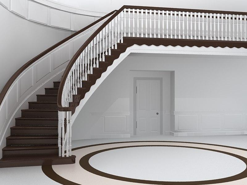 maya stairs interior