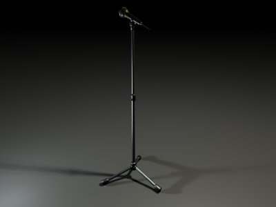 maya mic stand