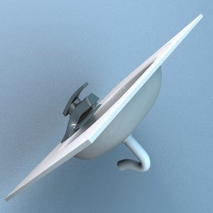 3d model of bath sink