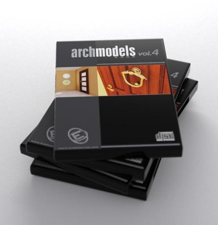 3d model archmodels 4 doors vol