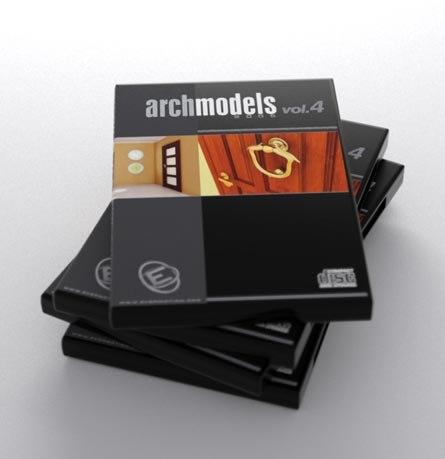 3d model archmodels 4 doors vol