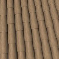 3d roof tile