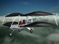 3d model aircraft biplane