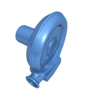3ds max air blower fan