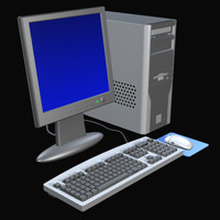 3d micro computer model
