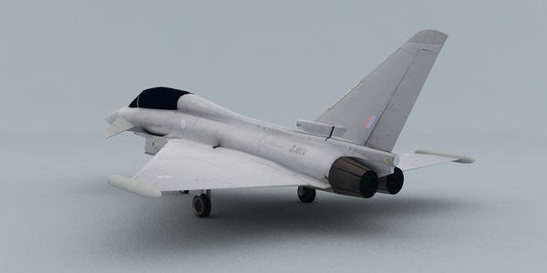 3d model eurofighter t1