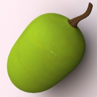 green grape 3d model