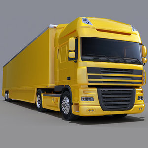 3ds max truck trailer