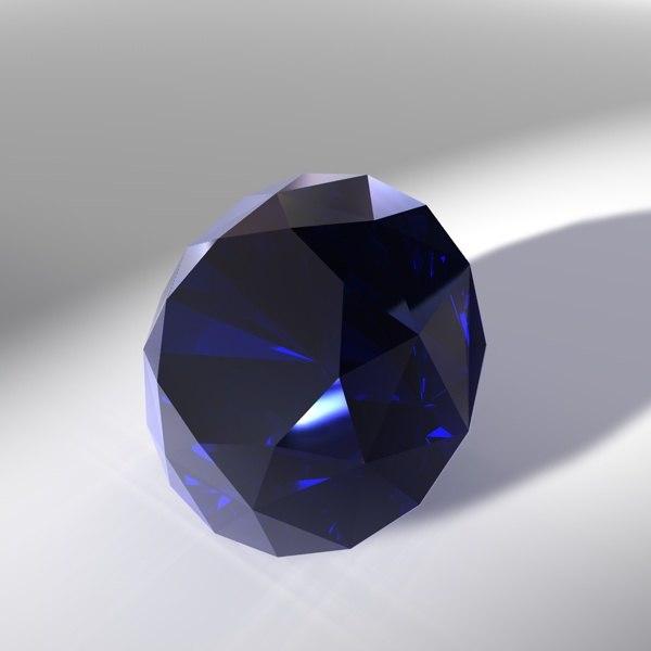 3d model gem diamonds gemstones