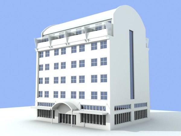 mondo building 3d model