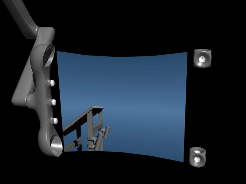 3d fold screen