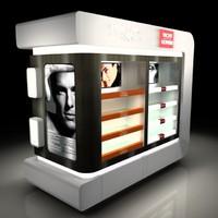 3d model access vendor stores