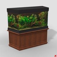3d model aquarium