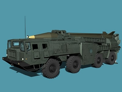 scud scud-b ss-1c 3d model