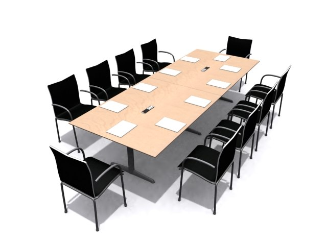 3d ahrend conference table
