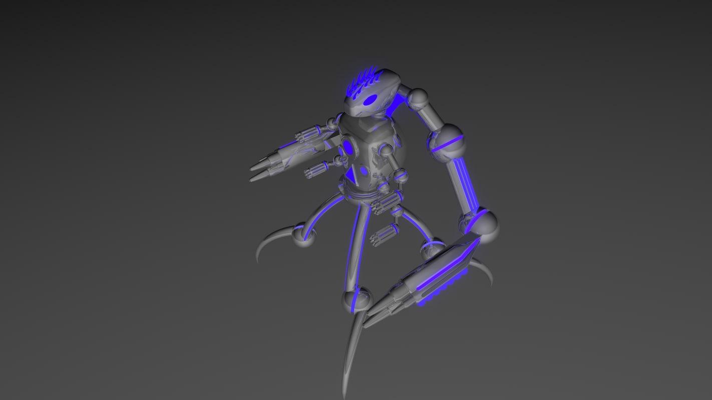 3ds max robot