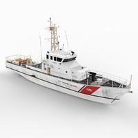 U.S. Coast Guard Patrol Boat WPB 123