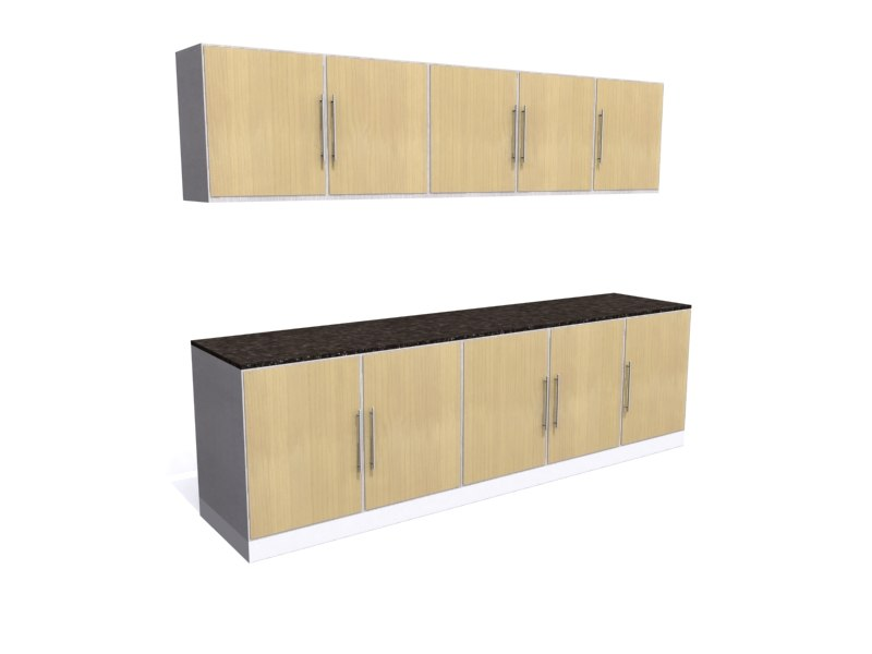 3d kitchen units cupboards