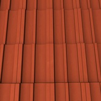roof tile 3d 3ds