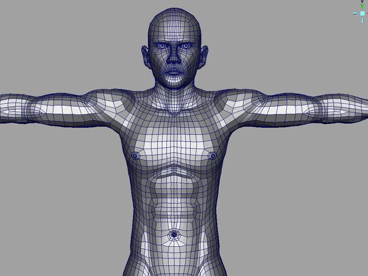 maya human characters male