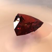 3d gemstone model