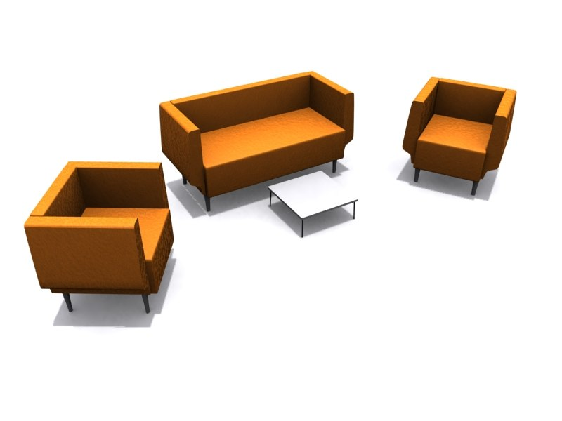 orangebox brue armchair sofa max