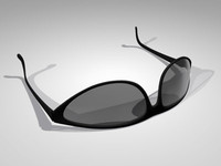 3ds max sunglasses glasses