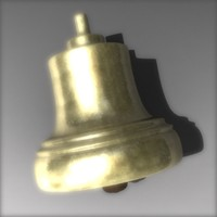 3d model of bell