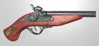 old gun c4d