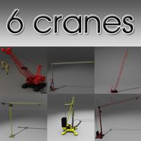 3ds max 6 cranes