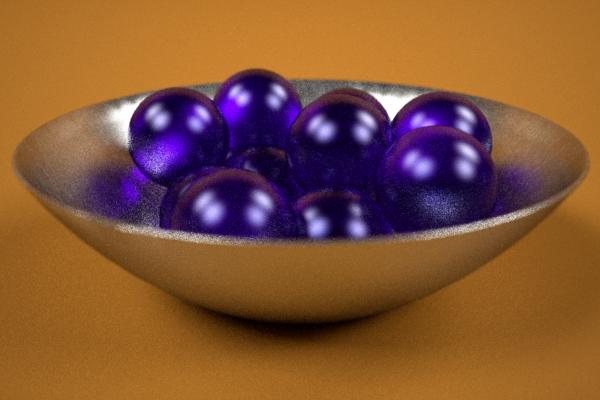 boll whith balls 3d max